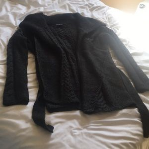 VINCE LONG GREY SWEATER SIZE SMALL